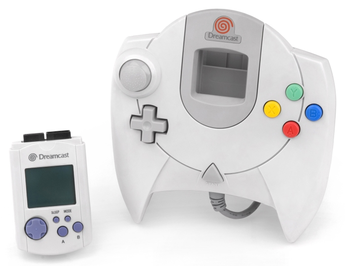 Dreamcast controller and VMU