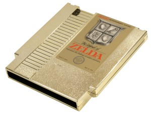 he Legend of Zelda gold cart