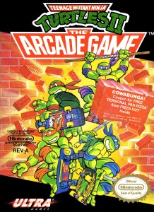 teenage mutant ninja turtles arcade NES