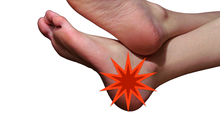 pain on the outside of the foot
