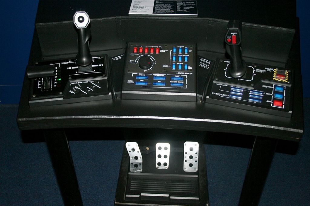 Steel Battalion controls