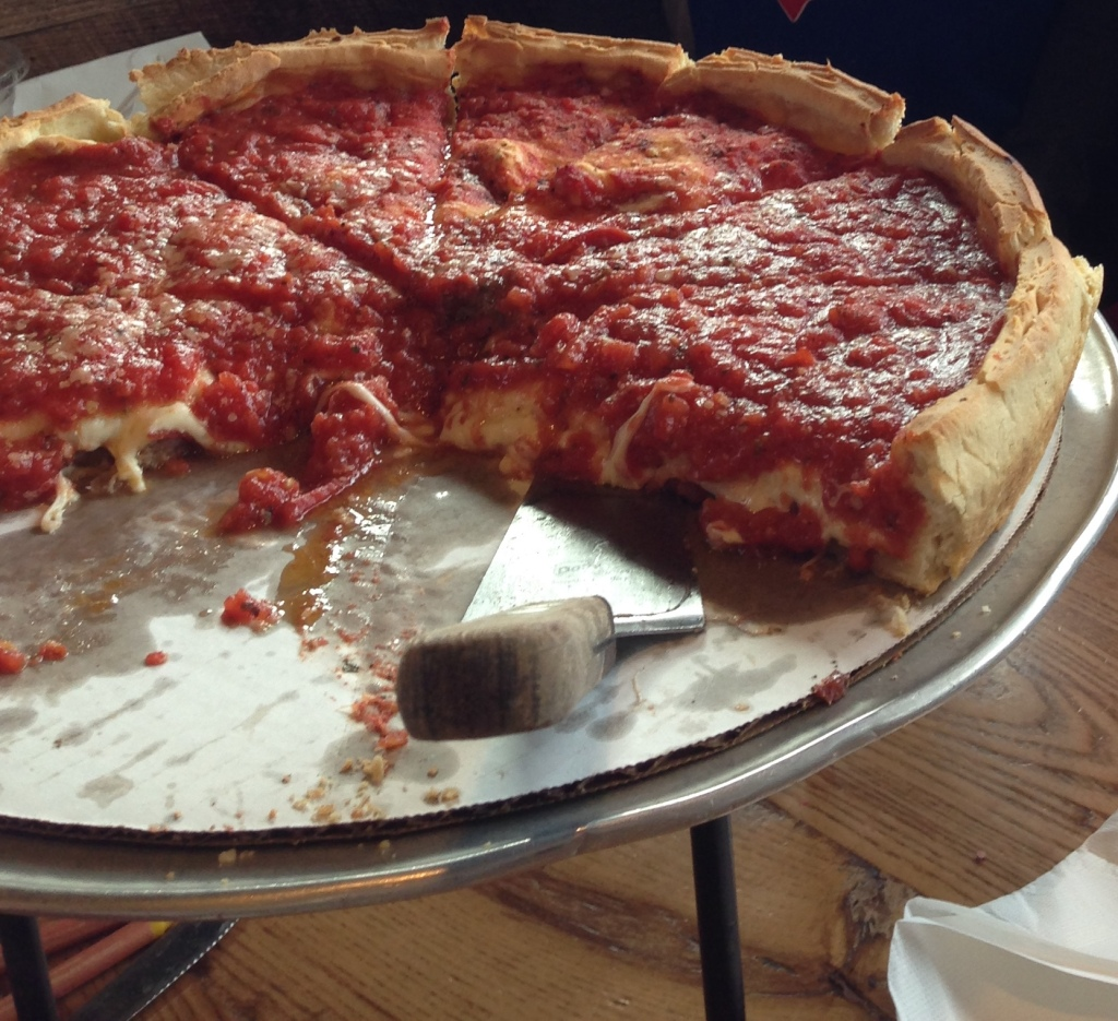 Giordanos stuffed deep dish pizza